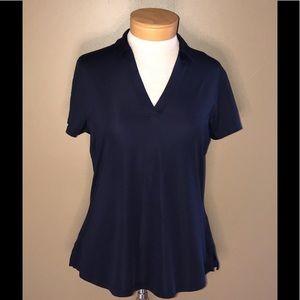 Callaway women's golf short sleeve navy shirt M